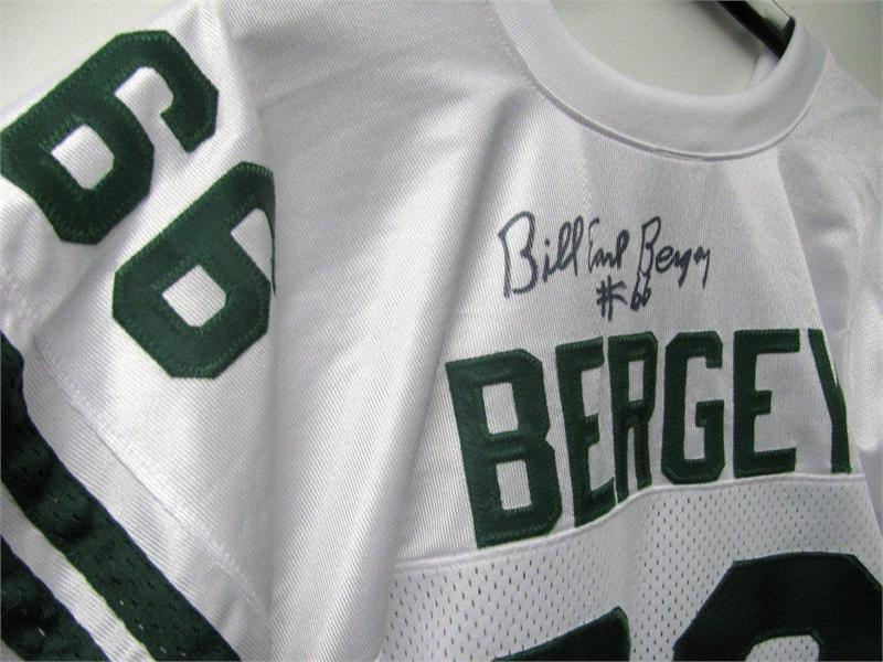 Bill Bergey 66 Signed Jersey Best Lineback In Eagles History